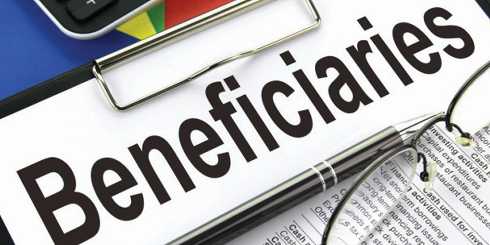 Check your beneficiaries
