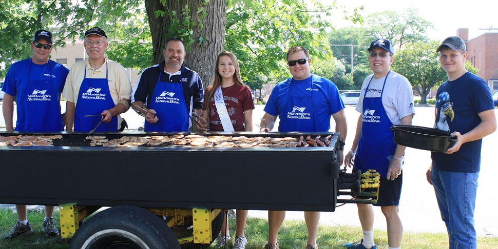 Canton Fireworks Fundraiser Cookout