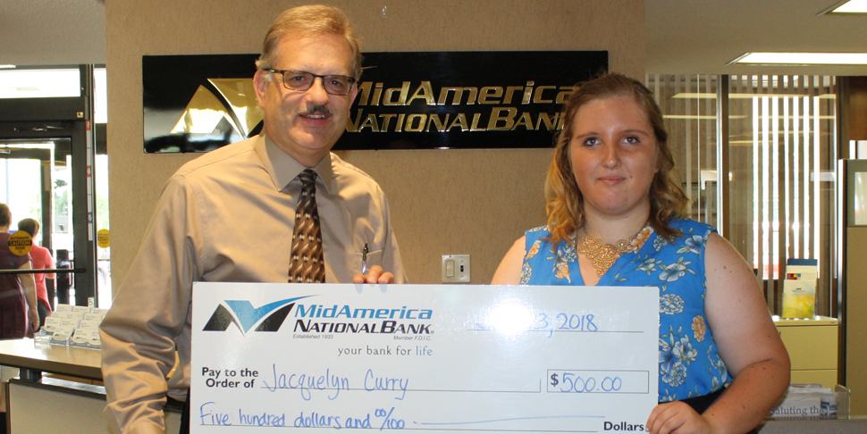 Great Start Scholarship Recipient Jacquelyn