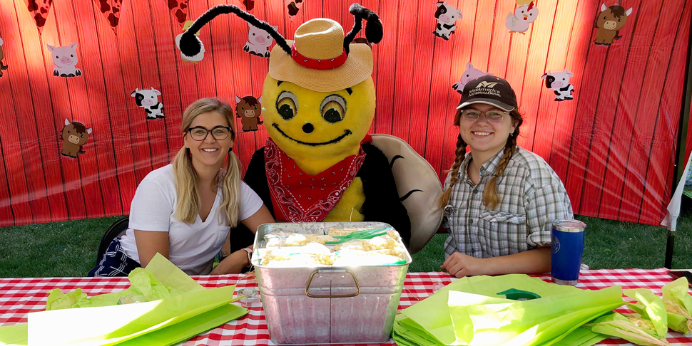 Buzzy at Kids Fest 2019