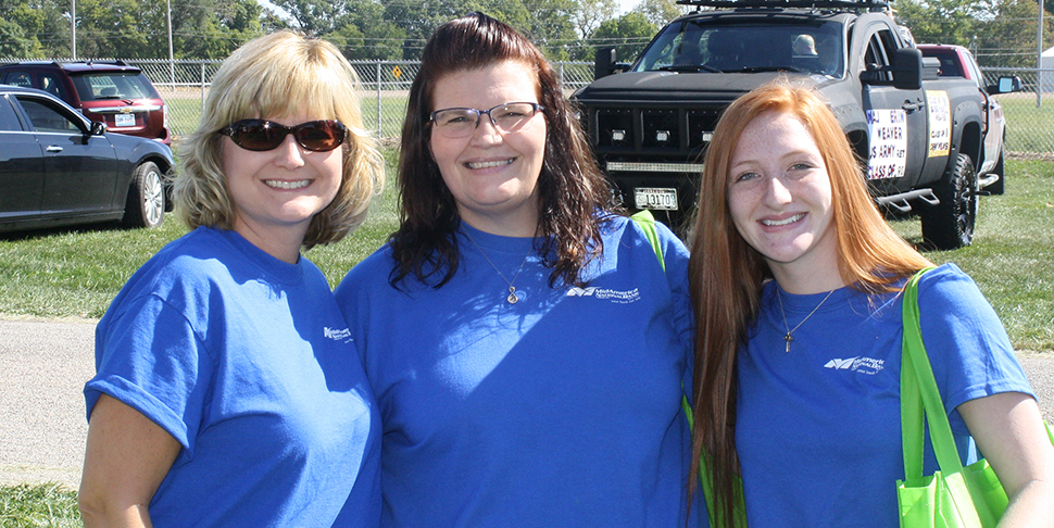 Lewistown Homecoming Parade walkers