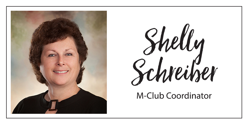 Shelly Schreiber M-Club Coordinator